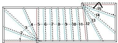 Hardhouten trappen op maat gemaakt for Spiltrap berekenen