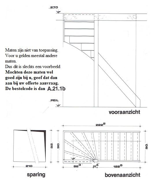 Zoldertrappen een vaste trap naar zolder geeft u meer for Steektrap berekenen