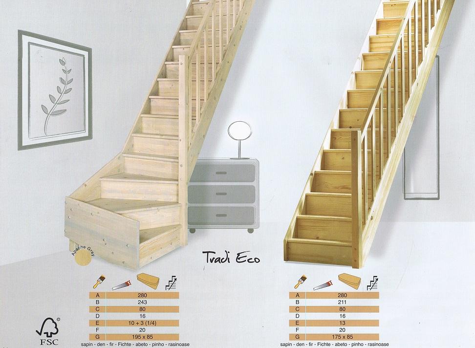 Bouwpakkettrappen doe het zelf trappen houten trappen en for Steektrap hout